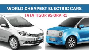 ORA R1 VS Tata Tigor- Best Value for Money Electric Car?: https://e-vehicleinfo.com/ora-r1-vs-tata-tigor-best-value-for-money-car/